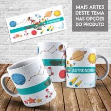 Caneca Profissões - Astronomia