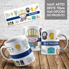 Caneca Profissões - Engenharia Elétrica