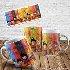 Caneca Dragon ball 37