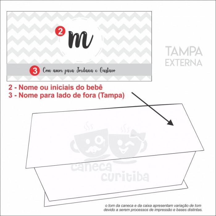 Convite Padrinhos Batizado Personalizado acabamento em laço de cetim