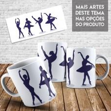 Caneca Profissões - Bailarina