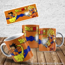 Caneca Dragon ball 01