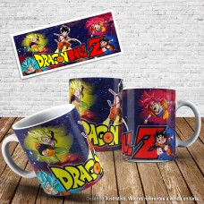 Caneca Dragon ball 21