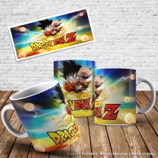Caneca Dragon ball 04