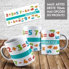 Caneca Profissões - Matemática