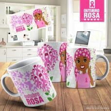 Caneca Personalizada Outubro Rosa 02