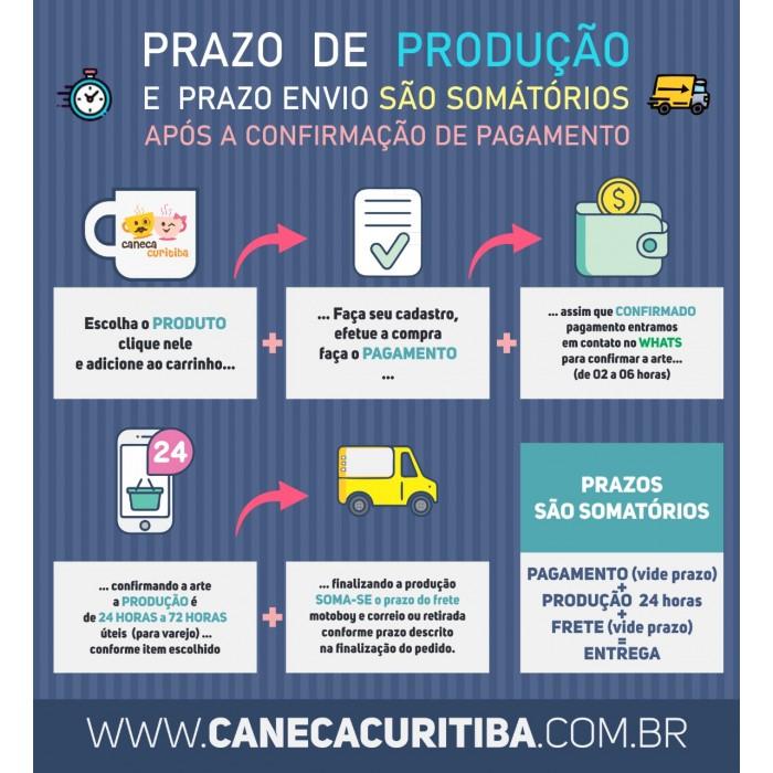 Caneca Alça Bola Futebol Personalizada com foto