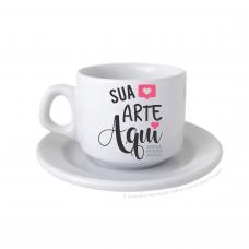 Jogo de café/chá 200ml (xícara+pires) não vende separado RESTAM 02 UNIDADES