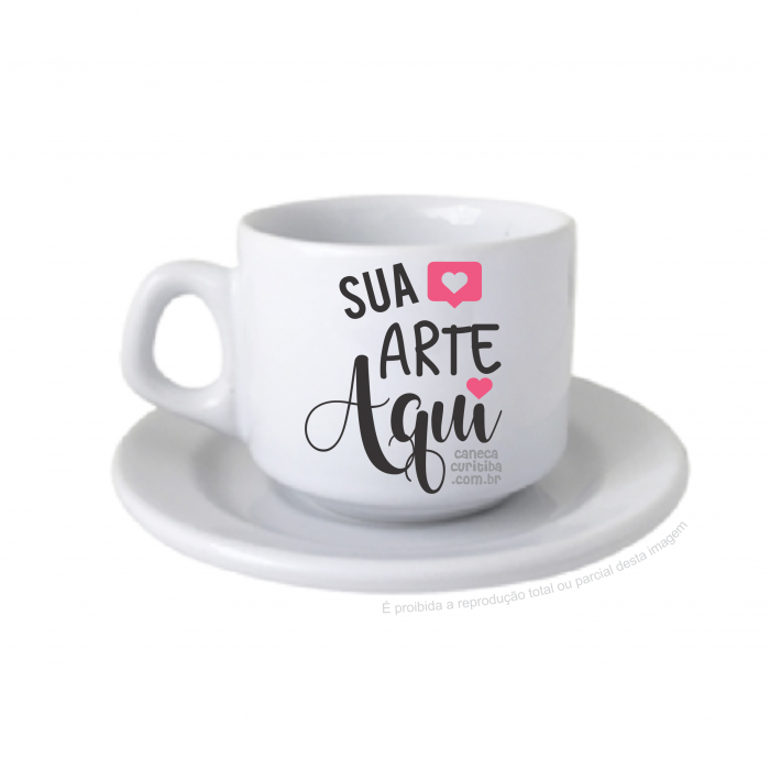 Jogo de café/chá 200ml (xícara+pires) não vende separado
